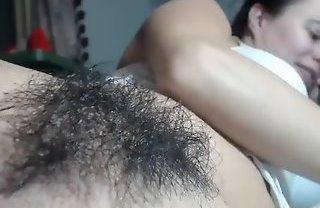Приватная запись мастурбации волосатой пизды из секс чата Чатурбат